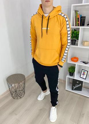 Спортивный костюм мужской адидас адик адідас adidas лампасы