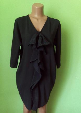 10% скидка!!!цельнокройное платье кокон с натуральной ткани