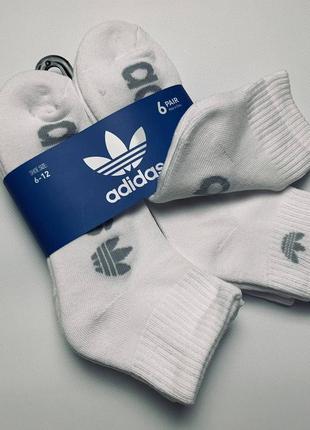 Шкарпетки adidas оригінал 6пар р-39-45