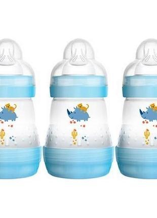 Набор бутылочек антиколиковая mam baby anti-colic 160 мл. 0+