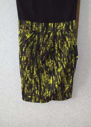 Платье бюстье вискоза- коттон asos