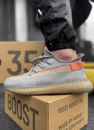 Мужские кроссовки grey - orange