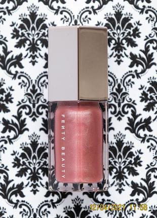 Блеск для губ c маслом ши fenty beauty by rihanna gloss bomb lip luminizer fu$$y / fussy 5.5 мл