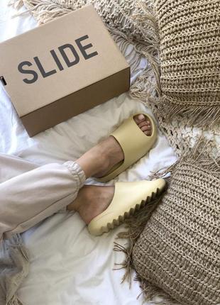 Шлепанцы yeezy slide сланцы тапочки