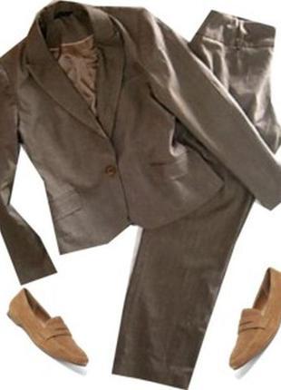 Брючный классический костюм размер 46-48 бренд  dunnes store