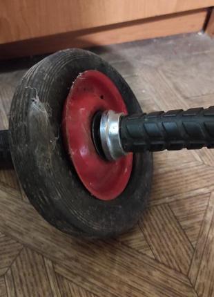 Ролик гимнастический, колесо для пресса самодельный