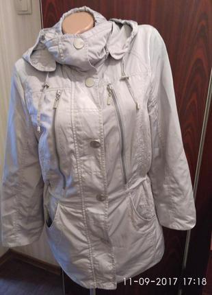 Куртка ветровка осенняя