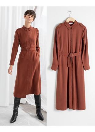 Трендовое платье рубашка