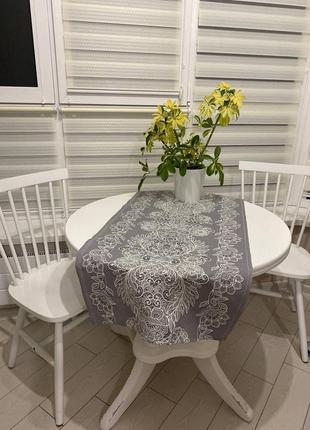 Скатерть-раннер на кухонный стол