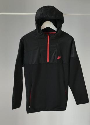Винтажная удобная кофта nike air как курточка