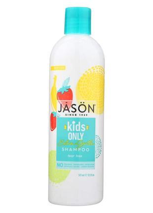 Мягкий детский шампунь для купания «без слез» против спутывания волос jason (сша)