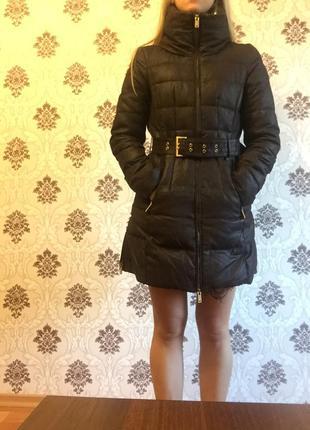 Куртка зимняя тёплая zara