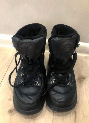 Шикарные зимние удобные ботинки the north face