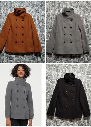 Пальто, полупальто, жакет от h&m, разные цвета.