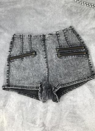 Джинсовые шорты george размер s