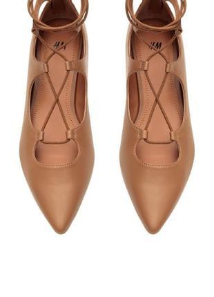 Туфли с шнуровкой  12513