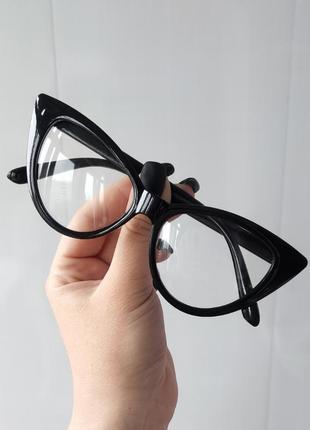 Имиджевые очки, кошечки. уценка!