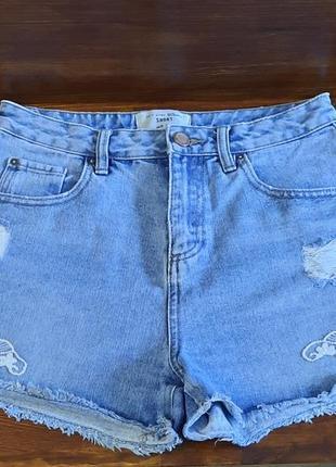 Джинсовые шорты new look размер s