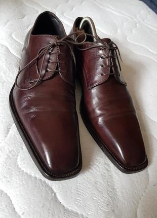 Классические мужские туфли премиум  класса hugo boss