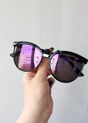 Зеркальные солнцезащитные очки 🌸