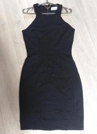 Платье темно синее лондон