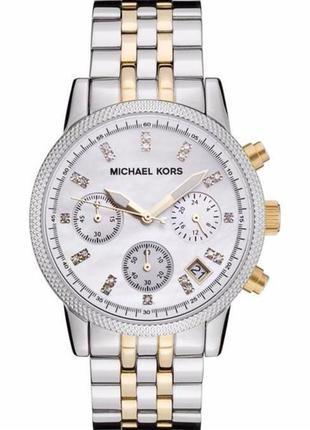Срочно! часы michael kors ritz gold and silver-tone mk5057 оригинал