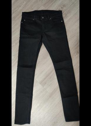 Джинсы женские скинни, серо-чёрного цвета, размер s-l