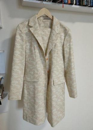 Костюм пиджак-платье и миниюбка винтаж.