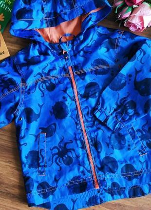 Классный дождевик,куртка на парнишку next 1,5-2 года.