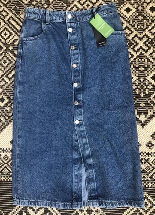 Джинсовая юбка reserved