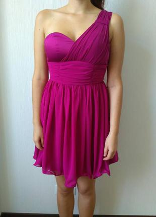 Коктейльна сукня кольору фуксії cotton club