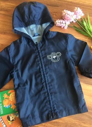 Классная ветровка,куртка для мальчишки tu 3-4 года.