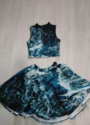 Комплект юбка и топ украинского бренда2 фото