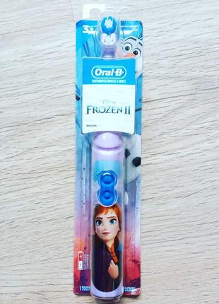 Електрична зубна щітка oral b frozen