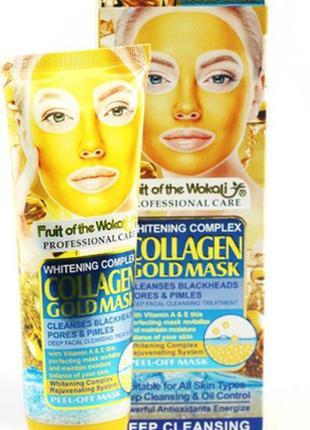 24 к золотая маска с коллагеном 130мл