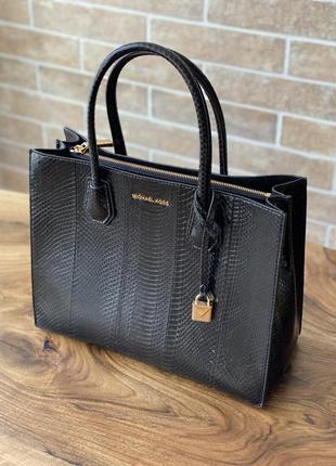 Новая сумка michael kors,  оригинал, из змеиной кожи