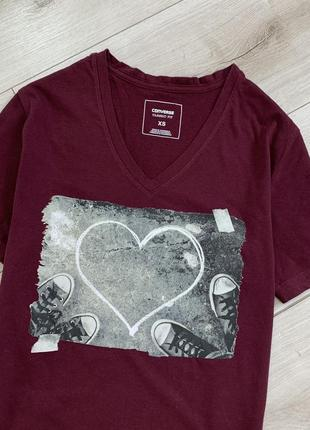 Хлопковая футболка converse