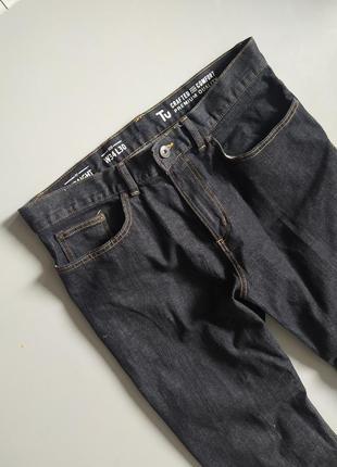 Крутые мужские темные джинсы от tu
