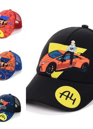 Классные кепки  а4 (52-55 размер)