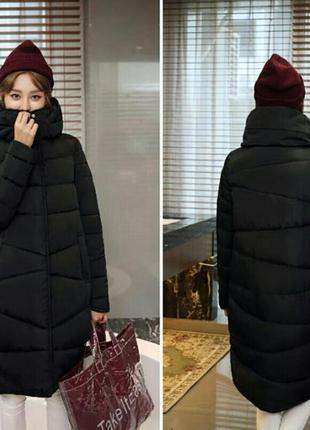 Стильное пальто на синтепоне