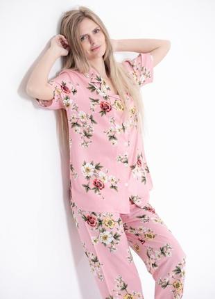 Пижама женская турция хлопок pijama deniz'i