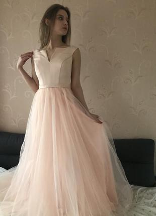 Платье на выпуск , вечернее платье , свадебное платье