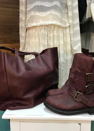 Крутые ботинки байкерские jeffrey campbell