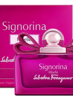 Signorina ribelle тестер из дубая,ванильные духи, женские духи, сладкие