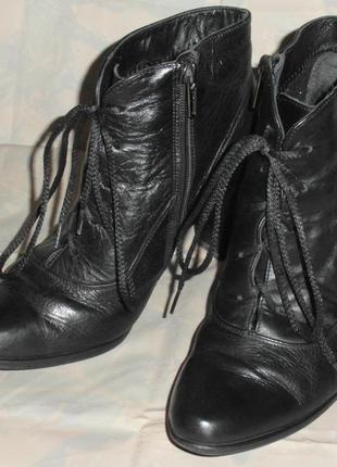 Ботинки демисизонные кожаные разм. 36