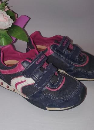 Классные фирменные кроссовки geox размер 322 фото