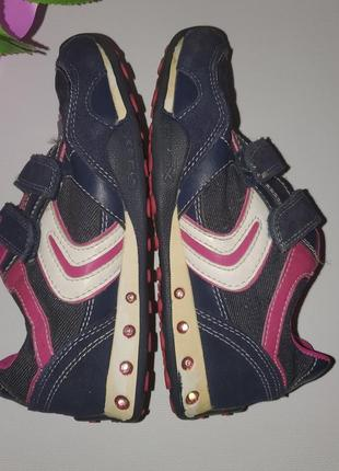 Классные фирменные кроссовки geox размер 326 фото