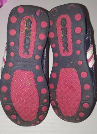 Классные фирменные кроссовки geox размер 328 фото