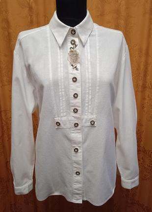 Рубашка с длинным рукавом  октоберфест дирндль