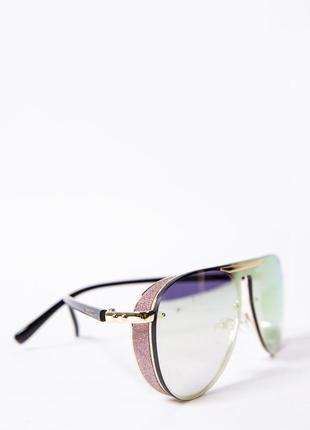 Очки женские солнцезащитные авиатор цвет бронзовый 154r56601-4